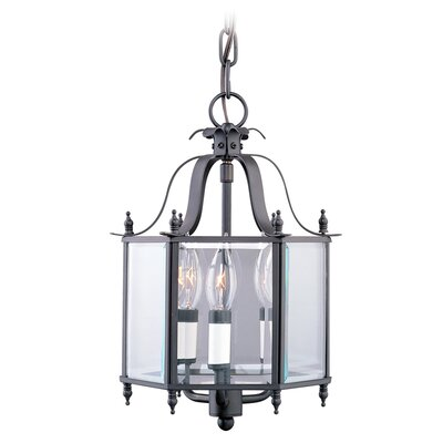 Livex Lighting 3 Light Convertible Foyer Pendant
