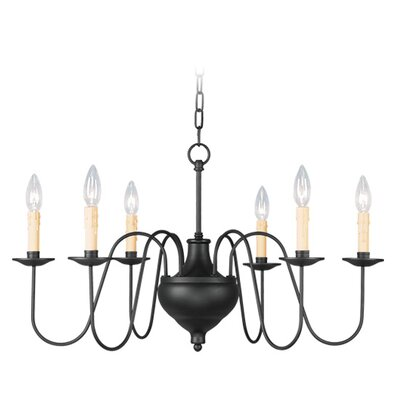 Livex Lighting Heritage 6 Light Chandelier