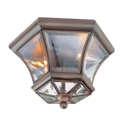 Livex Lighting Monterey Outdoor Flush Mount