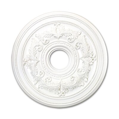 Livex Lighting Ceiling Medallion in White