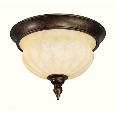 Livex Lighting Renaissance 2 Light Flush Mount