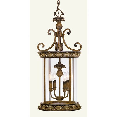 Livex Lighting Savannah 4 Light Foyer Pendant