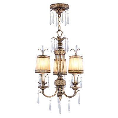 Livex Lighting La Bella 3 Light Convertible Chandelier