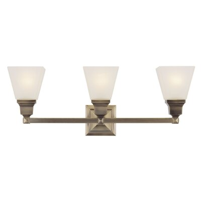 Livex Lighting Mission 3 Light Bath Vanity Light