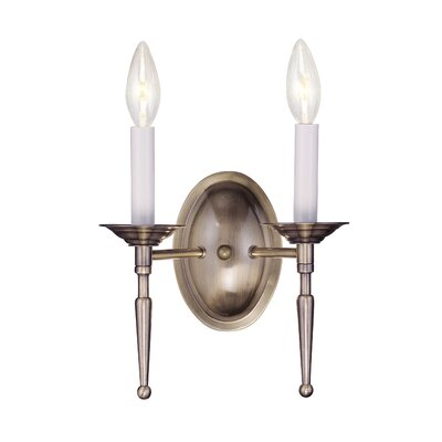 Livex Lighting Williamsburg 2 Light Wall Sconce
