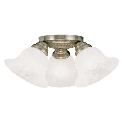Livex Lighting Edgemont 3 Light Flush Mount