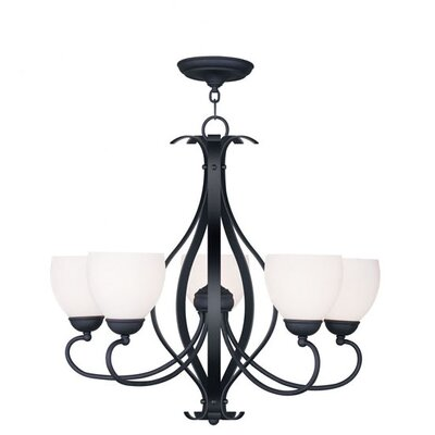 Livex Lighting Brookside 5 Light Chandelier