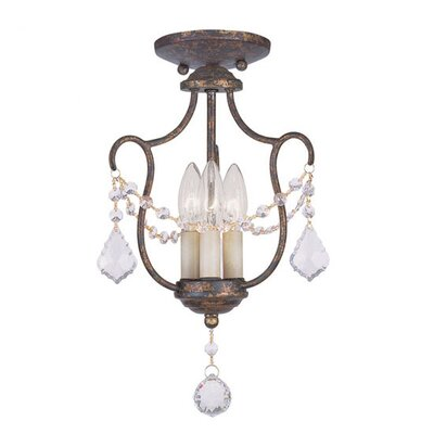 Chesterfield 3 Light Pendant