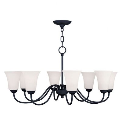 Livex Lighting Ridgedale 8 Light Chandelier