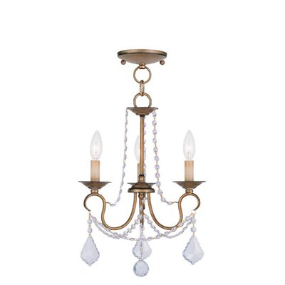 Livex Lighting Pennington 3 Light Pendant
