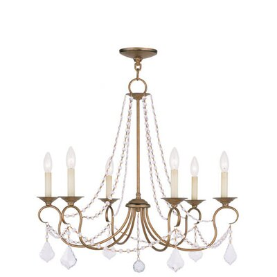Pennington 6 Light Chandelier