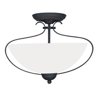 Livex Lighting Brookside 2 Light Flush Mount