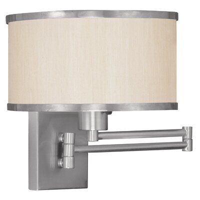 Livex Lighting Park Ridge Swing Arm Wall Lamp