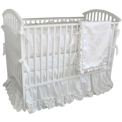 Arabesque 3 Piece Crib Bedding Set with Mobile
