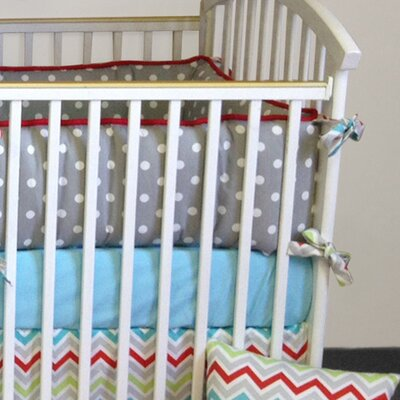 Bebe Chic Calypso 4 Piece Crib Bedding Collection