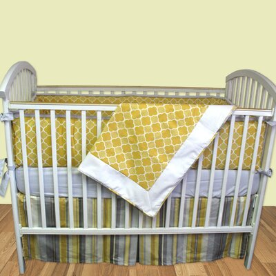 Bebe Chic Milano 3 Piece Crib Bedding Collection
