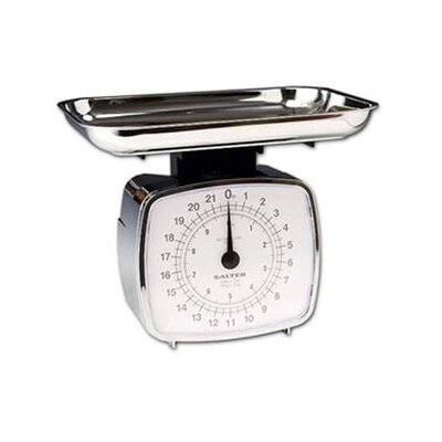 Taylor Salter Mechanical Kitchen Scale with Tray in Chrome