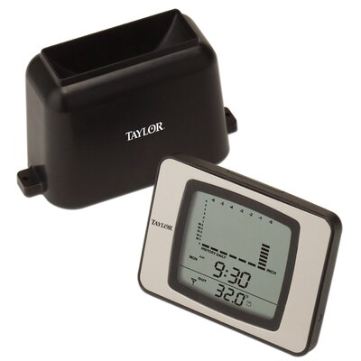 Taylor Wireless Rain Gauge and Thermometer