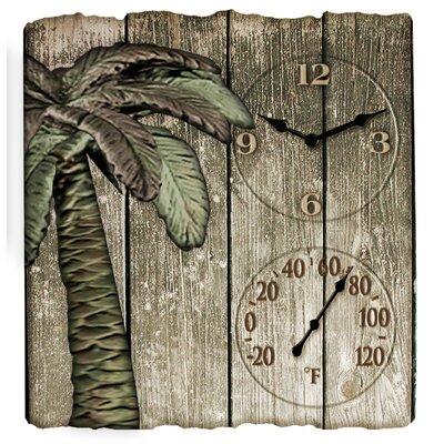 Springfield Precision Instruments Palm Tree Clock and 16