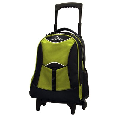 Traveler's Choice Pacific Gear Lightweight Wheeled Backpack