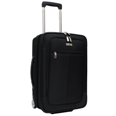 Siena Hybrid Hardshell Rolling Garment Bag / Upright in Black