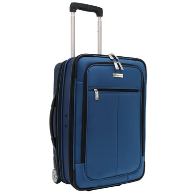 Traveler's Choice Siena Hybrid Hardshell Rolling Garment Bag / Upright in Navy