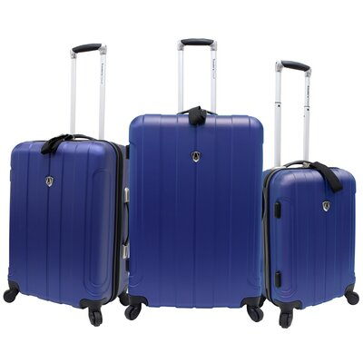 Traveler's Choice Cambridge 3 Piece Hard-shell Spinner Luggage Set