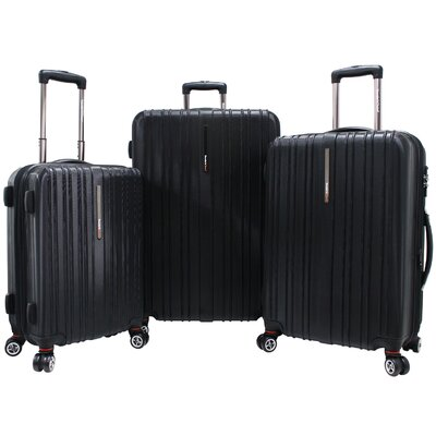 Traveler's Choice Tasmania 3 Piece Hardsided Expandable Luggage Set