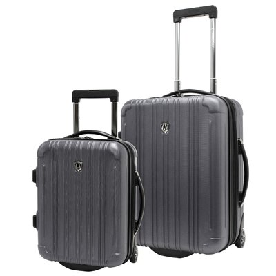 Traveler's Choice New Luxembourg 2 Piece Hardsided Carry-On Luggage Set