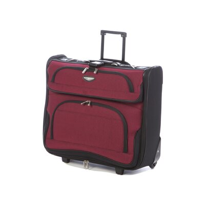 Traveler's Choice Amsterdam Two-Tone Rolling Garment Bag