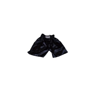 Amber Sporting Goods Boys Boxing Shorts in Solid Black