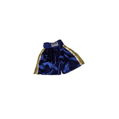 Amber Sporting Goods Mexican Style Boxing Shorts in Blue