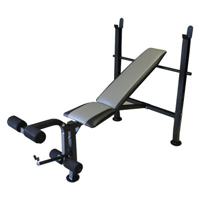 Standard Weight Training Adjustable Olympic Bench