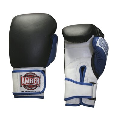 Amber Sporting Goods 12oz. Gel Training Gloves Hook and Loop
