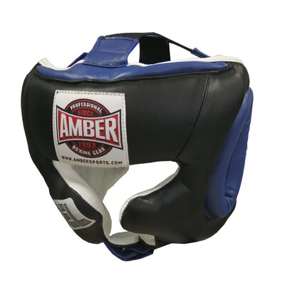 Amber Sporting Goods Small Gel Traditional Training Headgear