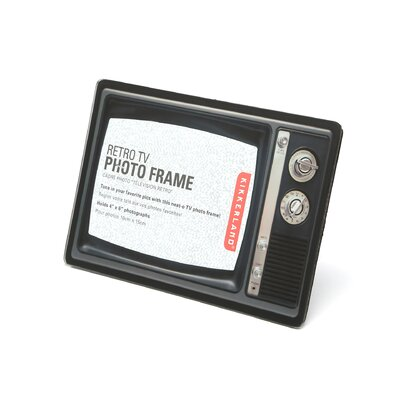 Kikkerland Retro TV Photo Frame