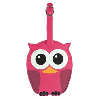 Kikkerland Whoo Owl Luggage Tags