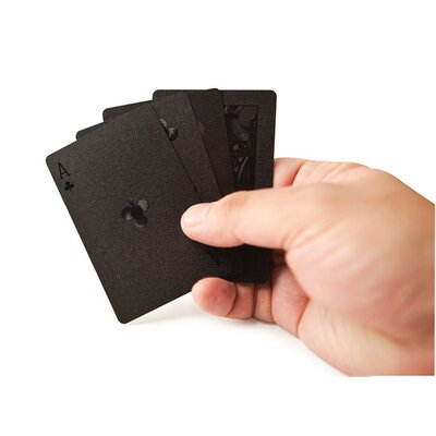 Kikkerland Black Magic Playing Cards