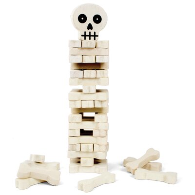 Kikkerland Stack The Bones Game
