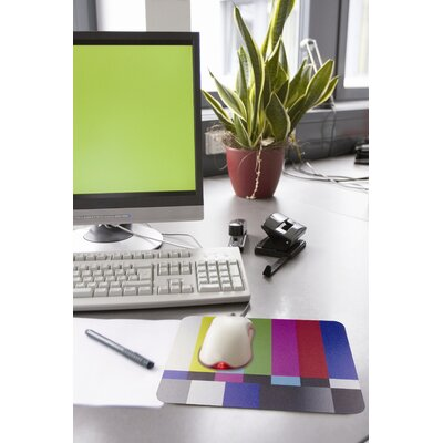 Kikkerland Color Blocks Mouse Pad