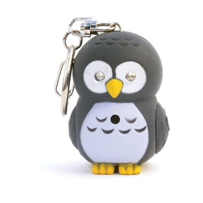 Kikkerland Accessories Owl LED Keychain