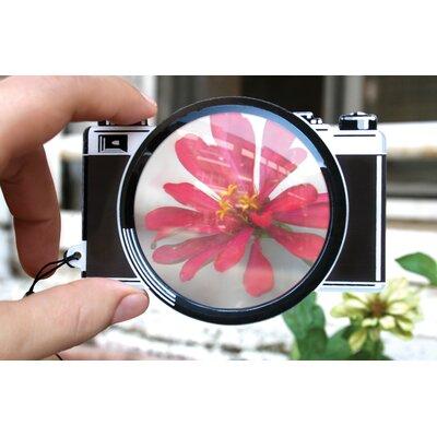 Kikkerland Fresnel Bookmark 66mm Camera