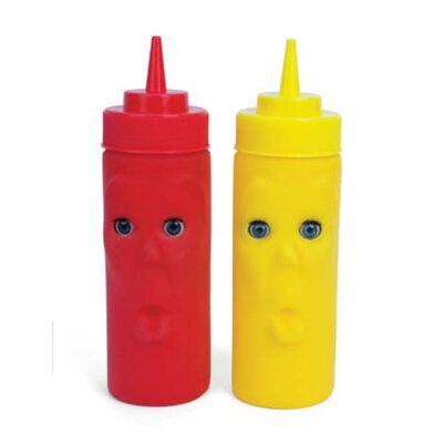 Kikkerland Blink Ketchup and Mustard