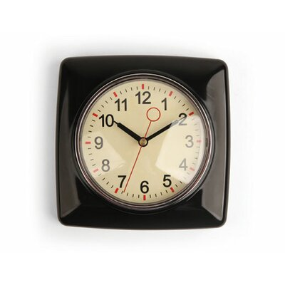 Kikkerland Retro Wall Clock