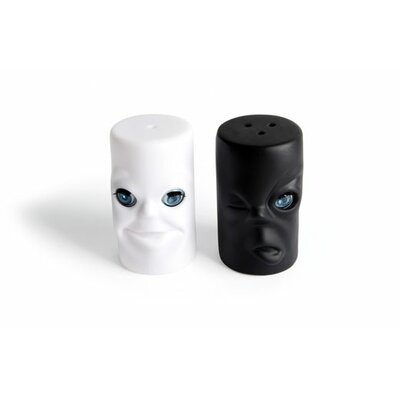 Max and Moritz Salt and Pepper Shakers
