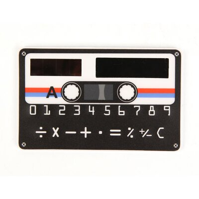 Kikkerland Cassette Flat Calculator