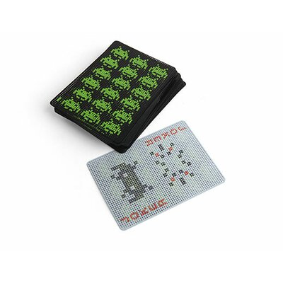 Kikkerland Space Invader Playing Cards