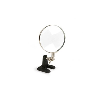 Kikkerland Single Handy Helper Desk Magnifier