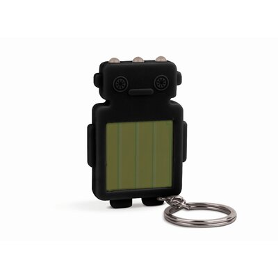 Kikkerland Robot Solar Flashlight
