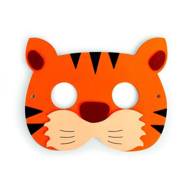 Kikkerland Jungle Party Mask (Set of 5)